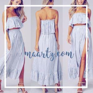 Dresses & Skirts - Our best set yet... Alexxa Maxi Set @ maartz.com